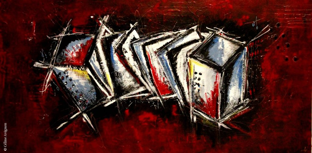 accordéon-peinture-acrylique-moderne-abstraite-celine-avignon