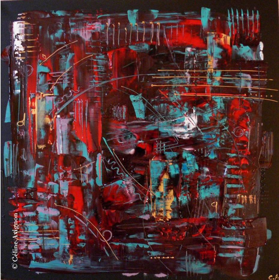 Partition-peinture-acrylique-moderne-abstraite-celine-avignon